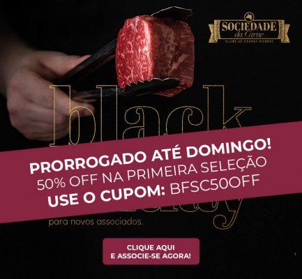 Black Friday Sociedade da Carne use o cupom BFSC50OFF
